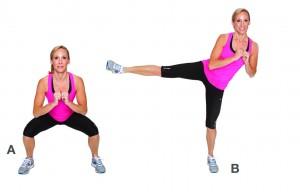 Une taille de guêpe et des hanches fines avec de l'entraînement physique !