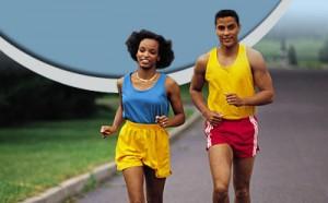 Jogging en couple ou avec un ami