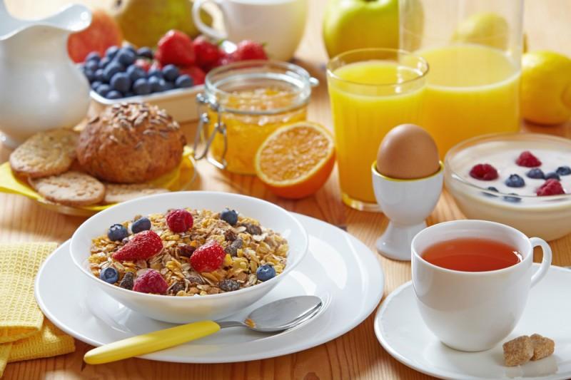 Bien manger le matin est bon pour un régime
