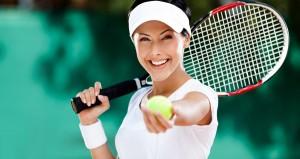 Le tennis est un sport pour maigrir technique