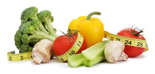 Une nourriture saine et équilibrée avec des légumes