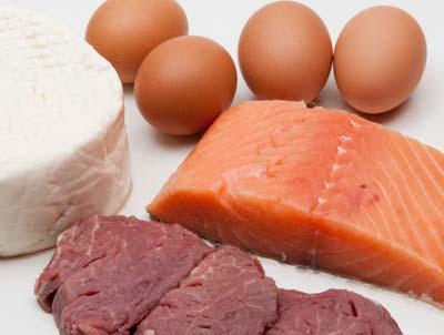 Viandes, oeufs, poissons sont les aliments autorisés