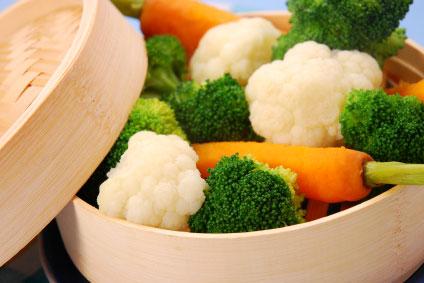 Cuisiner des légumes vapeur est excellent pour s'affiner