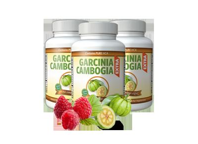 Boites contenant des gélules de Garcinia Cambogia Extra