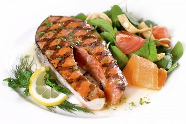 Recette de saumon laitue