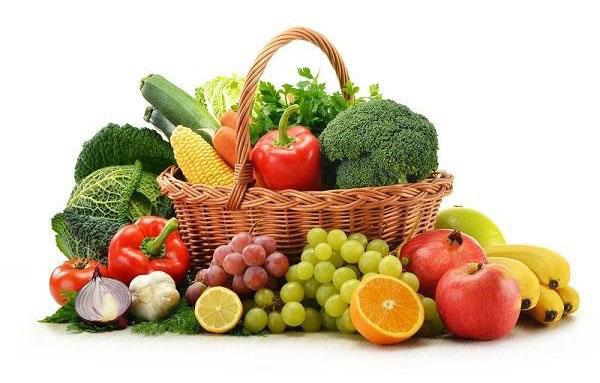 Fruits et légumes à volonté pour le régime sportif
