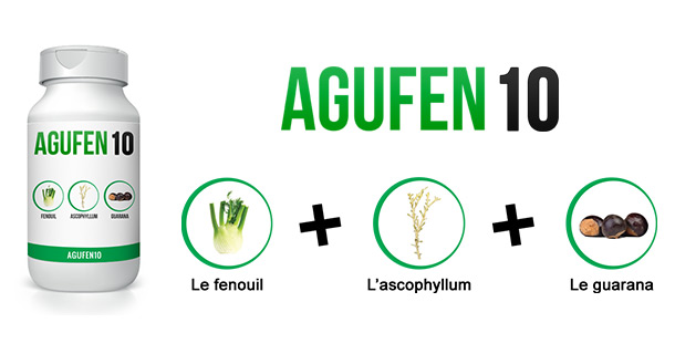 Perdez du poids avec Agufen 10