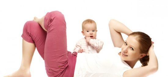 Séance de gymnastique avec votre nouveau-né