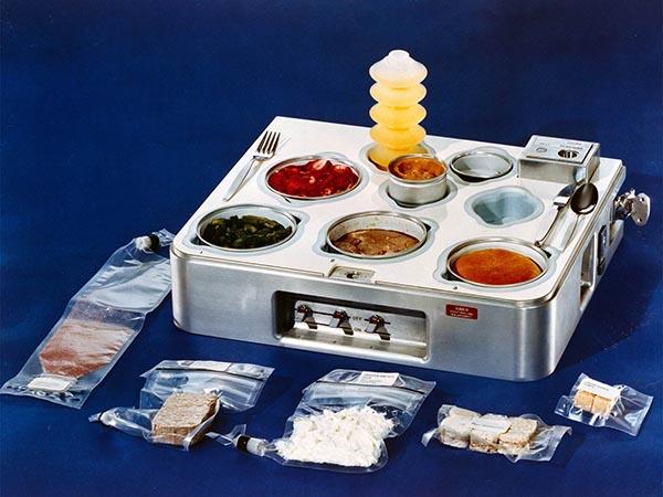 Ration proposée aux astronautes dans l'espace