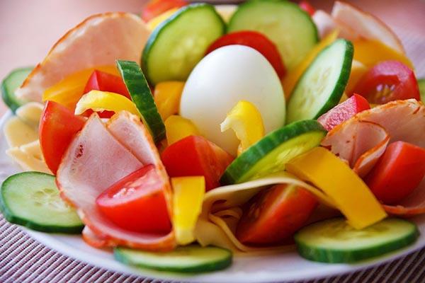 Une salade pour suivre un régime cosmonaute